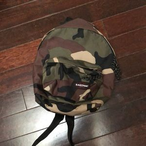 Eastpak Camo Backpack